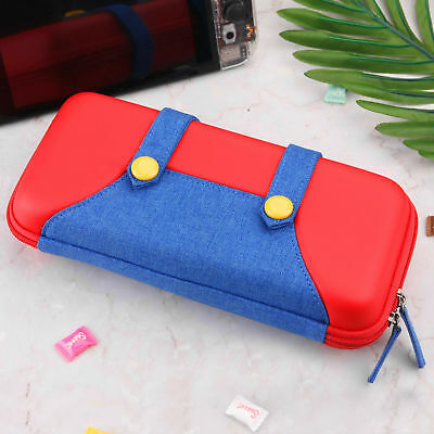 Nintendo Switch Accessories Carry Case Travel Protective Storage Mario Bag US