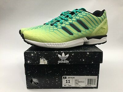 newest 6a08f ae34c NEW IN BOX Adidas ZX Flux Xeno Mens Size 11 Frozen Yellow / Glow 8AQ8212
