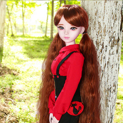 New 1/3 Handmade PVC BJD MSD Doll Lifelike Doll Joint DollS Girl Gift July 24""