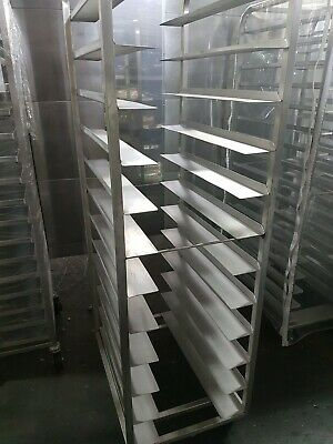 "16"" Stainless Steel Pastry Racks"