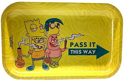 Tobacco Rolling Tray (Pass It This Way) 11x7