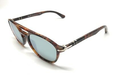 fed372f7188 New Persol 3170-S 9016 30 Caffe   Silver Mirrored Sunglasses Authentic 52-