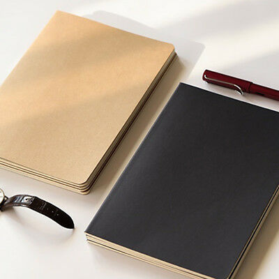 A5 Notebook Journal Student DIY Drawings Notepads Memo Exercise Office Supplies