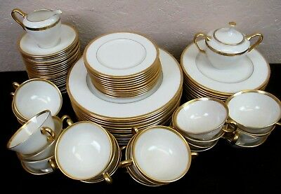 LENOX TUXEDO Dishes, Plates, Cups & Saucers, Creamer, Sugar - by the piece