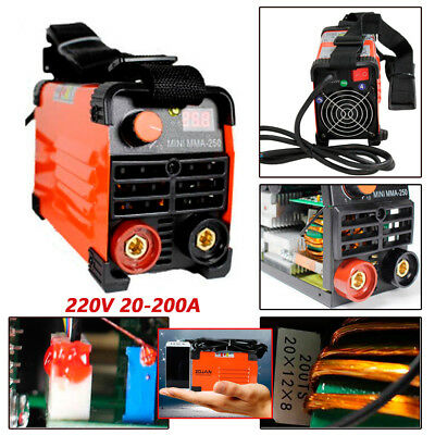 Good 1xhandheld Mini Mma Electric Welder 220v Power Inverter Arc Welding Machine Tool Ebay Motors Cnc, Metalworking & Manufacturing