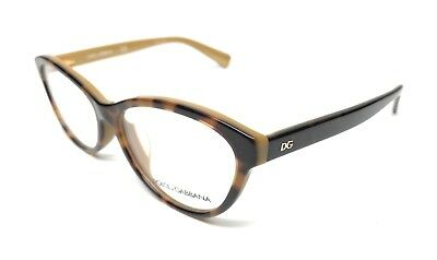 2948f5b076a0ed New Dolce   Gabbana Dg 3232F 2956 Havana Gold Eyeglasses Authentic Frame 55- 15