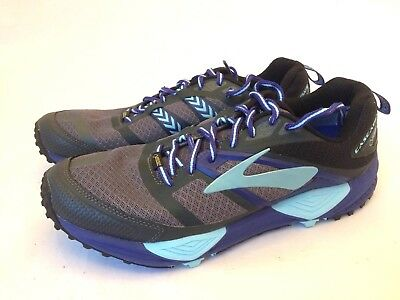 23bf0f867260c BROOKS CASCADIA 11 Gore-tex Trail Running Shoes Mens Size 12 blue ...