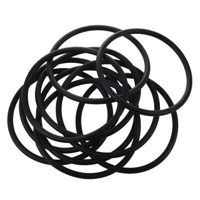 10 pieces 90 mm x 5mm Black nitrile rubber O-ring seal NBR grommets U5H5