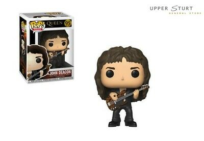 Pop Rocks Queen John Deacon 95 Funko Pop Vinyl EXPERT PACKAGING
