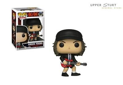 AC/DC Angus Young 91 Funko Pop Vinyl EXPERT PACKAGING