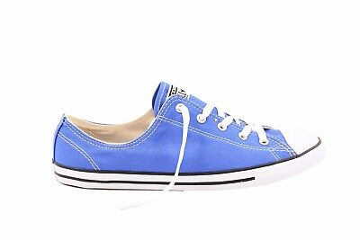 5047610fae4f Converse Women CTAS Dainty Canvas Color OX 553373C Sneakers Blue RRP £88  BCF79