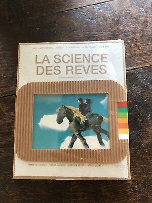 [BLU RAY COLLECTOR]  LA SCIENCE DES REVES edition française NEUF sous blister.
