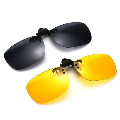 e452c848e9 Polarized Clip-on Flip Up Metal Clip Rimless Sunglasses for Prescription