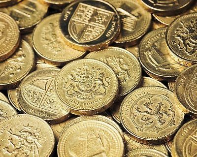 Cheap & Cheerful Round £1 One Pound Coins