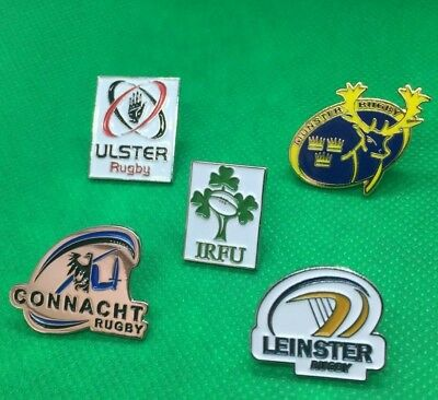 Irish Province Rugby Pin Badges