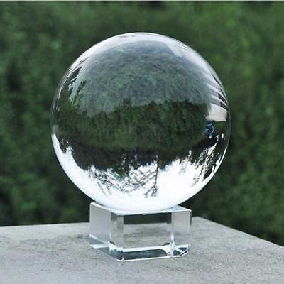 Photography Crystal Ball Clear Glass Sphere Transparent Lensball Photo Lens Prop
