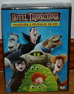 Hotel Transylvania Collection 3 Movies Dvd New Sealed (Unopened) R2