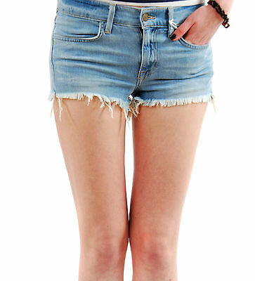 WILDFOX COUTURE BLUE FISHES FISH DISTRESSED CUTIE SWEAT SHORTS M 12 8 40!