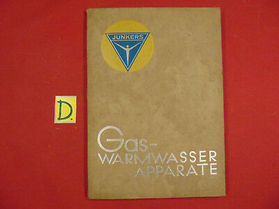Junkers Gas-Warmwasser Apparate