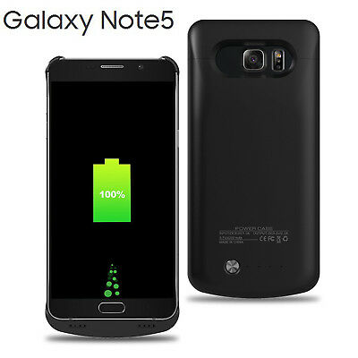4200mAh Battery Case Charger Power Bank for Samsung Galaxy Note 5 -Fast Shipping