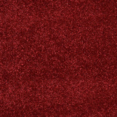 HARDWEARING 12mm Thick Red Heather Felt Back Saxony 5m Wide Carpet Remnant