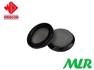 Weber 40Dcoe Triple Layer Mesh Air Filter To Suit Carbs With 56Mm Stacks Bsg