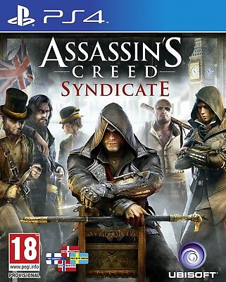 Assasin's Creed Syndicate - PS4 IMPORT neuf sous blister