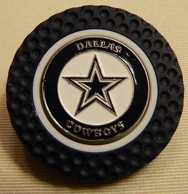 9ed246253 NFL Dallas Cowboys Magnetic Poker Chip removable Golf Ball Marker