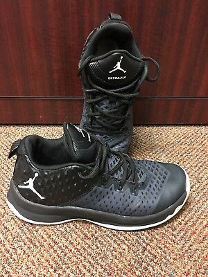 reputable site c35bc 09aae Nike Jordan Extra Fly Gs 854550-001 Anthracite Black Basketball Shoes Sz 7Y