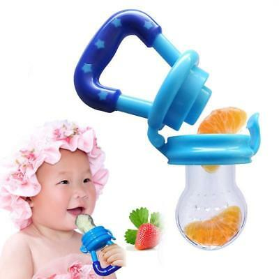 Baby Teether Fruit Feeder Infant Fresh Food Pacifier Silicone Nibbler Teething