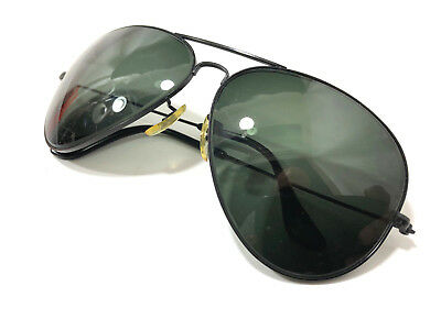 VINTAGE B L RAY BAN FRAME G15 UV GLASS LARGE CLASSIC AVIATOR SUNGLASSES  62  12mm 05207df06aa6