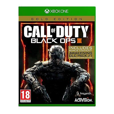 Call of Duty Black OPS 3 Gold Edition (XBOX ONE) BRAND NEW SEALED