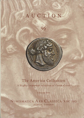 NAC 96- Important Ancient Greek Gold Silver Coin Collection Auction Catalog Book