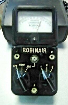 Vintage Simpson Electric/Robinair Temperature Meter 12-139