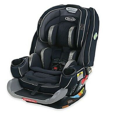 Graco 4Ever Extend2Fit Platinum 4-in-1 Car Seat in Ottlie New!! Free Shipping!
