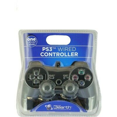 3rd Earth Playstation 3 Wired Controller