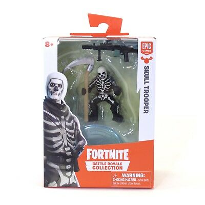 Fortnite Battle Royale Collection SKULL TROOPER 016 Epic Game Mini Action Figure