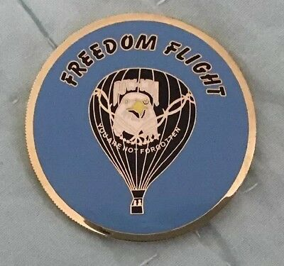 Albuqerque NM POW MIA Freedom Flight Challenge Coin Limited Edition #325 Of 500