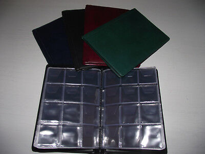 (C43) coin album for 96 coins up to 30mm perfect for olympic / christmas /TT 50p