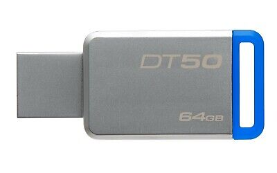 Pen Drive Kingston DT50 / 64 GB DataTraveler Pennetta USB 3.0 2.0 Flash Drive