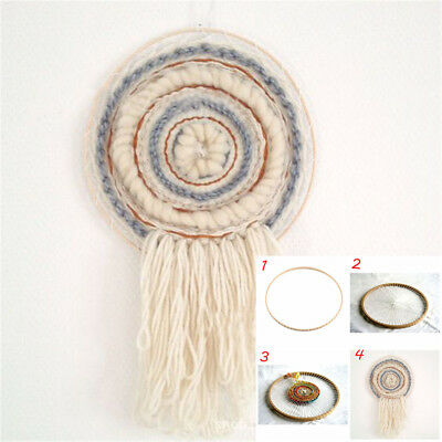 Home Craft DIY Yarn Hanging Decoration Round Knitting Loom Woven Tools Sewing