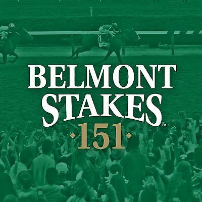 4 Tickets - 2019 Belmont Stakes - Sec 3L Row B + Silver Parking Pass