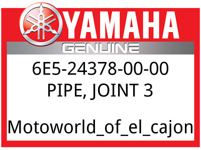 JOINT 6E5-24379-00-00 PIPE OEM Stock YAMAHA  Part