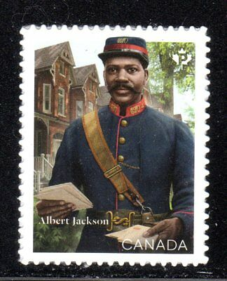 2019 Canada SC# Albert Jackson - First Black Letter Carrier-from booklet M-NH