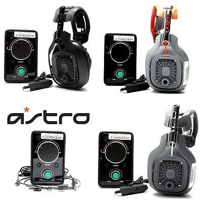 Astro a40 Gaming Headset & Mixamp PRO with Aux and Mic for Xbox Ps3 Ps4 PC Used
