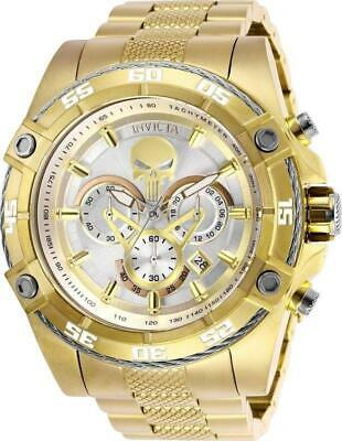 Invicta Marvel Punisher Limited Edition 26864 Men's Gold 52 mm Chronograph Watch