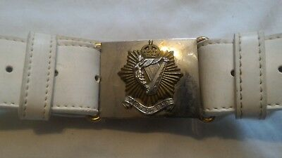 WW2 WWII Canadian Canada Irish Regiment Parade Dress Belt Brass Buckles