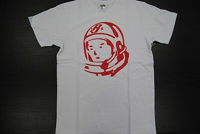 e3475859e8c9 New Men's Bbc 891-1210 Billionaire Boys Club Bb Rider Helmet Ss Tee White  Red