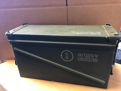 Military 40Mm, Ba30, Pa120 Ammo Can  Good Condition