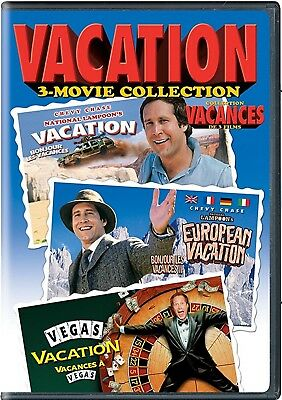 NEW 2DVD - NATIONAL LAMPOON VACATION - TRIPLE FEATURE - Chevy Chase
